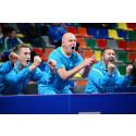 Pressträff med svenska herrlandslaget i bordtennis inför VM