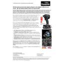 Ultrakompakt prisvinnande slagskruvdragare med oslagbar hållbarhet och styrka - gör det tuffaste jobbet enkelt och ergonomiskt! (.pdf)