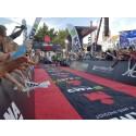 Patrik Nilsson under åtta timmar på Ironman Köpenhamn