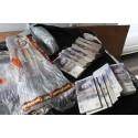 Op Magic NW24/15 Cash seized by HMRC in Rochdale