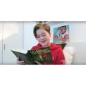 Youtube-stjärnan som älskar fantasyböckerna från Bokfabriken