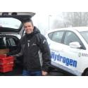 Kommune valgte hydrogenbil til postombringing