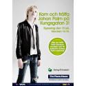 The Phone House och Sony Ericsson presenterar skivsignering med Johan Palm