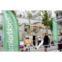 Invigning av kvarteret Syllen i Årstadal. Konst av stockholmsbaserade Haidar Mahdi.
