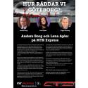 """Inbjudan till MTR Express  med tema business under parollen """"Hur räddar vi Göteborg"""""""
