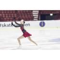 Anita Östlund på 13:e plats i Junior-VM i konståkning