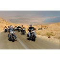 Tusentals amerikanska präster deltog i Harley Davidson-kortege i Israel