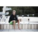 Ett dyk i rätt riktning. Bluewater's samarbete tillsammans med en växande svensk simstjärna.