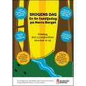 """Pressinbjudan: """"Skogens Dag"""" och invigning av Norra Stadsbergets naturreservat – söndag 13 september"""