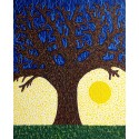 """Tree of Life"" - Schreur to paint a large mural in a Carehome, assisted by three residents. Life is Beautiful. Always."