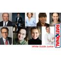 Prins Carl Philip, Markus Aujalay och Tina Nordström på White Guide Junior-galan