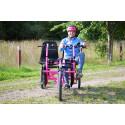 Robin Berkhuizen cyklar 80 mil för fler och bättre LSS-boenden med Funktionshinderbanan
