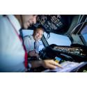 Flight Deck i Norwegians 787 Dreamliner