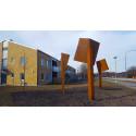 Lunds kommun har fått ett nytt offentligt konstverk