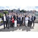 Examensdags för chefer vid Executive MBA-programmet i Göteborg