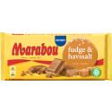 Fudge och härligt havssalt i Marabous nya chokladkaka