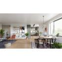 Stort intresse inför säljstart av nybyggda lägenheter i Viken - interiör