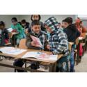 """Sida stödjer """"catch-up classes"""" som ger syriska flyktingbarn möjlighet att återvända till skolan"""