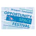 Invigning av Opportunity Space Festival