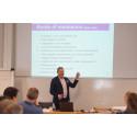 Professor of Practice Pekka Mattila of Aalto University lectures on the Gothenburg Executive MBA programme