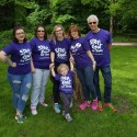​Survivors take a Step Out for Stroke in Rufford Abbey