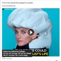 Viral succé för Hövding med 150 miljoner visningar