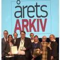 Vara kommunarkiv blev Årets arkiv 2018