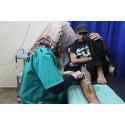 Gaza: Skottskadade får inte livsviktig eftervård