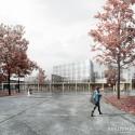 Högupplösta bilder på vinnande arkitektbidraget för Nya Kungsberget