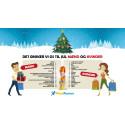Vi dropper postbudet til julegaverne