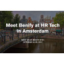 Benify set to headline HR Tech World Amsterdam on 24-25 October 2017