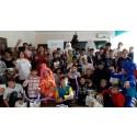 New Year celebration from QNET /Компания QNET подарила детям праздник