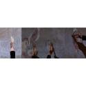 Digital freskomålning i Caroli kyrka under No Limit Street Art