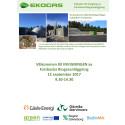 Program och inbjudan till invigningen av biogasanläggningen den 12 september 2017