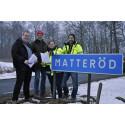 Avsiktsförklaring tecknad för fiberutbyggnad i Matteröd