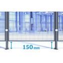 New floor distance for Troax machine guard panels
