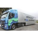 """IVECO Stralis NP kjører tvers gjennom Europa fra Lisboa til St. Petersburg, med rallyet """"Blue Сorridor-2017: Iberia – Baltia"""" som støtter naturgass"""