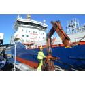 Neste inleder rördistribution av lågsvavligt fartygsbränsle i Sverige