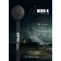 SUPRA NERO-X – Trådlösa sporthörlurar i flygplanskomposit