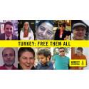 Amnesty: Turkiet måste frige de fängslade människorättsförsvararna