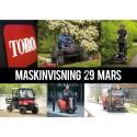Maskinvisning i Malmö 29:e mars!