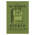Fjällräven Re-Kånken. Klassisk ryggsäck i återvunnen förpackning.