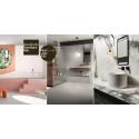 Kakelspecialisten lanserar kakel- och badrumsnyheter på Stockholm Furniture fair
