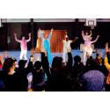 Cirkushoppet sprider skratt och drömmar i Umeå