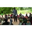 Utbildning om kvinnliga kondomer i Malawi