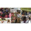 Kville Saluhall & Matilda upptäcker bjöd på ett häftigt bok- och smakäventyr för barn