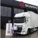 Scanvo blir auktoriserad återförsäljare av DAF lastbilar