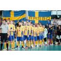 Sveriges herrar vann mot Tjeckien i EFT