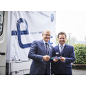 Wiehl is set to become the first city in Germany to put a van with an electrically converted motor axle supplied by BPW into operation