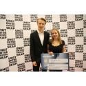 Foss-elever tok gull på NM for Ungdomsbedrifter